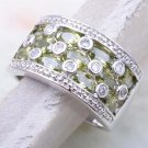 Ladies' Peridot  Ring size 5.5