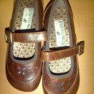 Brown Mary Jane Shoes by Polo
