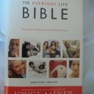 Joyce Meyers' Everyday Life Bible Hardcover Amplified Version