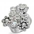 Pilgrim Skanderborg Ring With Genuine Crystals