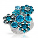 Genuine Crystal Ring by Pilgrim Skanderborg