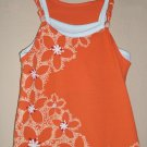 Floral design girl's tunic top size 4T