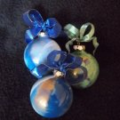 Customized Hand Painted Glass Ornaments
