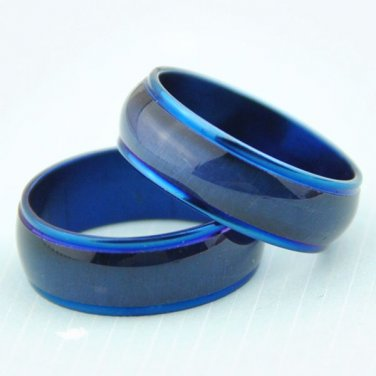 Blue Wedding Band Size 10.25 - Unisex