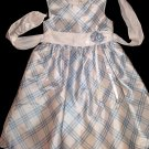 From Cherokee Blue & White Dress wiith Shimmer Size 6X