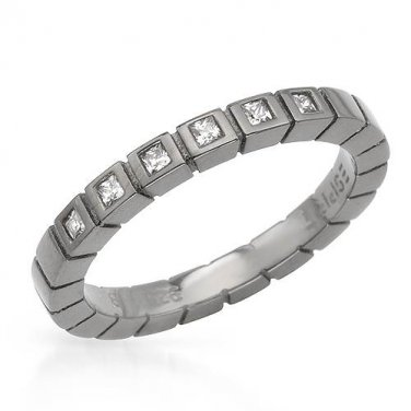 From Esprit - CZ Diamond Sterling Silver Ring Size 7.5