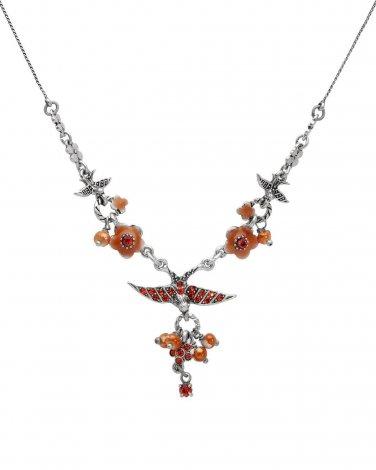 Pilgrim Skanderborg, Denmark Genuine Crystal & Pearl Necklace