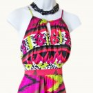 Halter Top Dress Size 4 From MSK