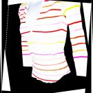 Victoria's Secret Pink - V-neck Striped Top
