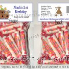 Personalized NOAH'S ARK Birthday Party Favors Bags Toppers Supplies Baby Shower