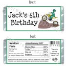 Personalized DIRT BIKE QUAD FMX Birthday Party Large Candy Wrappers Party Favors