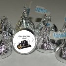 WESTERN WEDDING COWBOY HAT Kiss Labels Candy Wrappers Party Supplies COUNTRY