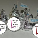 Personalized SCOOTER Kiss Labels Candy Wrappers Favors Birthday Party Supplies