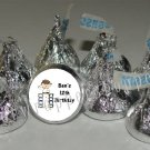 Personalized KARATE MARTIAL ARTS Kiss Labels Candy Wrappers Party Favors