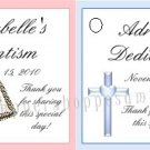 Personalized BAPTISM CHRISTENING Party Favor Bag TAGS Unique Party Supplies