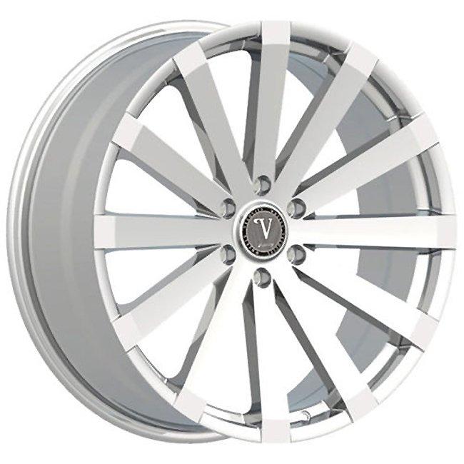 "20"" Velocity VW12 Chrome Wheels  Rim 20x8.5 Chrome 5x114.3"
