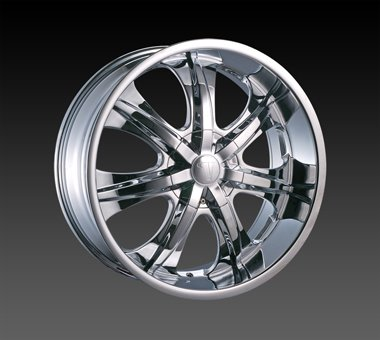 "18"" Velocity VW725 Wheels Chrome  Rim 18x7.5 Chrome 4x114.3"