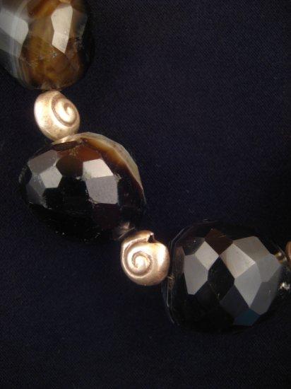 Black Agate Necklace : DMD1006