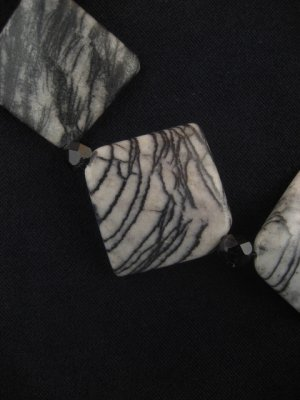 Zebra Jasper Necklace : DMD1025