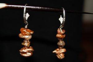 Heishi Pearl Earrings - DMD0221