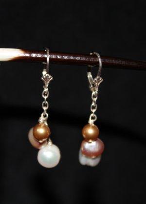 Multi Colored Pearl Earrings - DMD0243