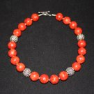 Bali Style Sponge Coral Necklace - DMD0040