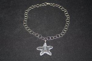 Large Clear Swarovski Crystal Starfish - DMD0205