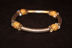 Sterling and Swarovski Bracelet - DMD1926