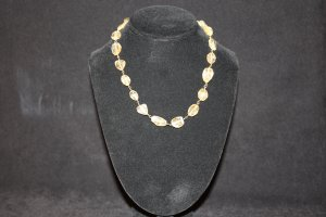 Citrine Nugget Necklace - DMD1957