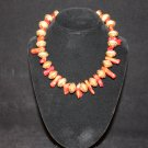 Red Coral Chunk Necklace - DMD1982