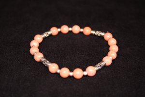 Salmon coral bracelets - DMD2142