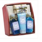 Lavender & Sage Bath Set On Tray