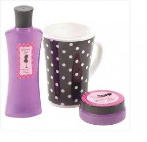 Rose and Lavender Body Scrub Set