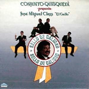 CONJUNTO QUISQUEYA - Jose Miguel Class (1992) - LP