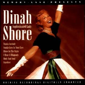 DINAH SHORE-Sophisticated Lady-CD