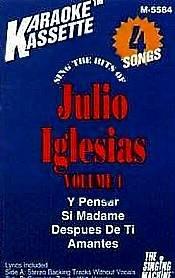 JULIO IGLESIAS VOL.1 (1995)  - Karaoke Cassette