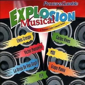 EXPLOSION MUSICAL - Varios Artistas (2000)  - CD