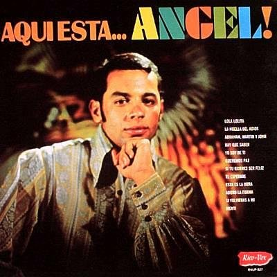 LUIS ANGEL APONTE - Aqui Esta... Angel  - LP