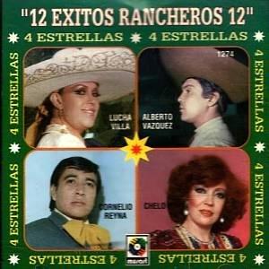 12 EXITOS RANCHEROS - Varios Artistas (1995) - CD