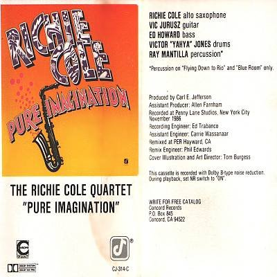 RICHIE COLE QUARTET