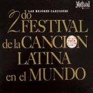 FRANCIS SANTANA - Canciones Festival Cancion Latina - LP