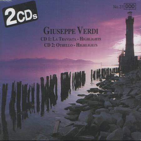 GIUSEPPE VERDI - Highlights: La Traviata & Othello - 2 CD'S