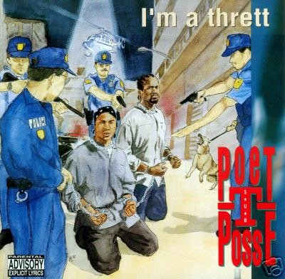 POET - T POSSE  -  I'm a Thrett [Explicit Lyrics] (1992) - CD