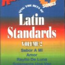 LATIN STANDARDS VOL. 2 (1995) - Karaoke Cassette