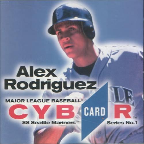MLB CybrCard Series No. 1: Alex Rodriguez - CD-ROM