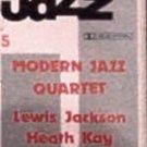 I GIGANTI DEL JAZZ No. 5 - MODERN JAZZ QUARTET (1958) - Cassette Tape