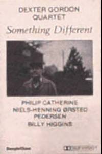 DEXTER GORDON QUARTET - Something Different - Cassette Tape