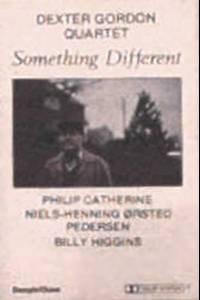 DEXTER GORDON QUARTET - Something Different - Cassette Tape
