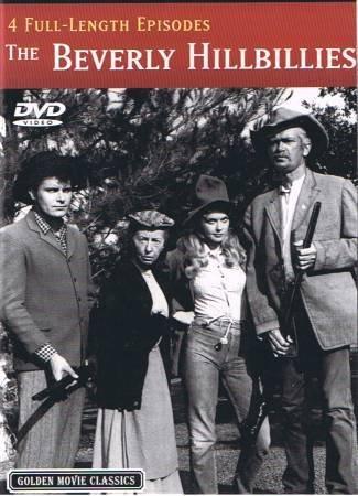 THE BEVERLY HILLBILLIES - 4 Full Lenth Episodes - DVD