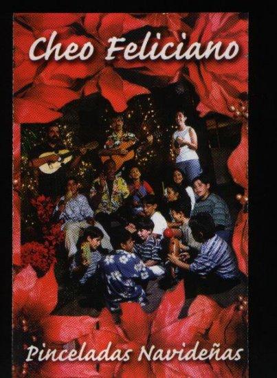 CHEO FELICIANO - Pinceladas Navideñas - Cassette Tape